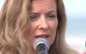 Valerie Trierweiler François Hollande sueurs froides cause Jerôme Cahuzac
