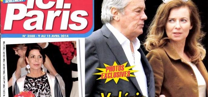 Valerie Trierweiler et Alain Delon ne se quittent plus