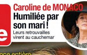 Caroline de Monaco humiliee par Ernest-Auguste de Hanovre