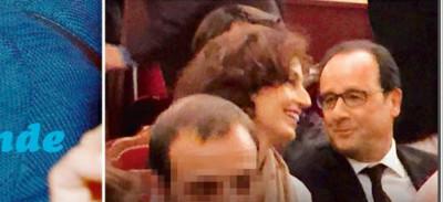 François Hollande si complice avec Audrey Azoulay