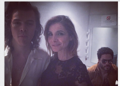 Clotilde Courau Harry Styles Lenny