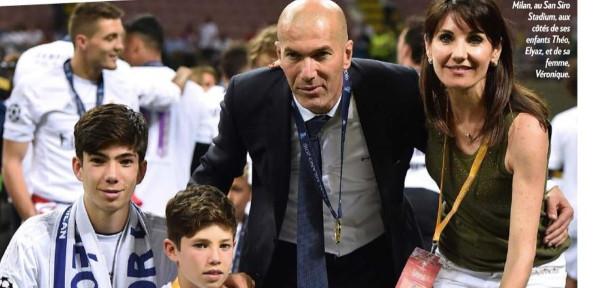 """Zinedine Zidane, la drôle de confidence de Véronique, qui """"regrette"""" de l'avoir épousé"""