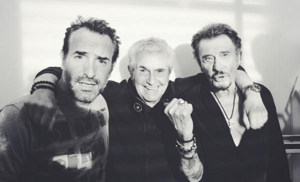 Jean dujardin et claude lelouch adressent leur amour for Dujardin johnny