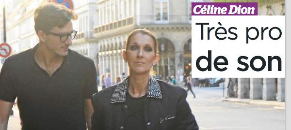 Céline Dion rejointe par Pepe Munoz à Las Vegas