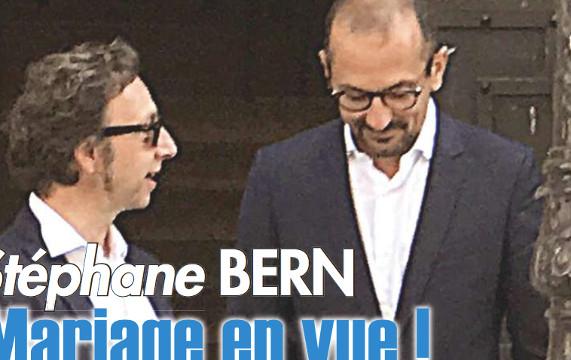St phane bern bient t le mariage selon ici paris - Stephane bern et son compagnon ...