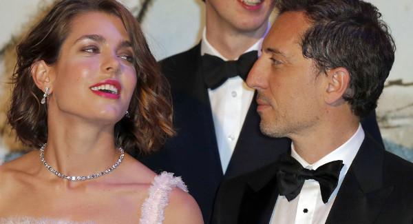 Charlotte Casiraghi et Gad Elmaleh, leur fils Raphaël «un enfant très curieux»