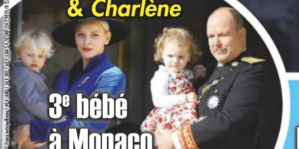 Charlène et Albert de Monaco- Un troisième bébé selon Ici Paris