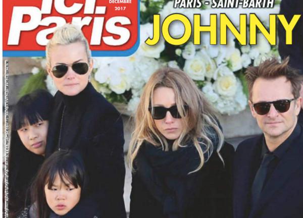 Le clan de Johnny Hallyday brisé par la douleur - Ici Paris dévoile les photos