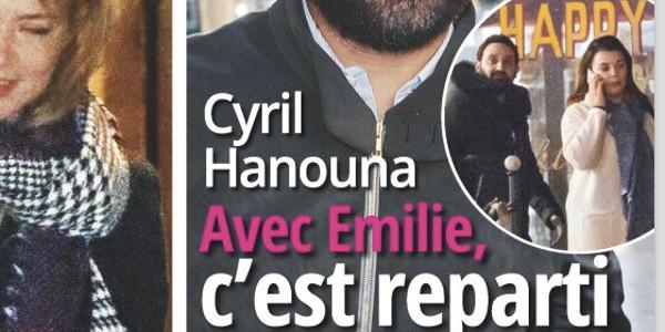 Cyril Hanouna, c'est reparti avec Emilie, la mère de ses enfants