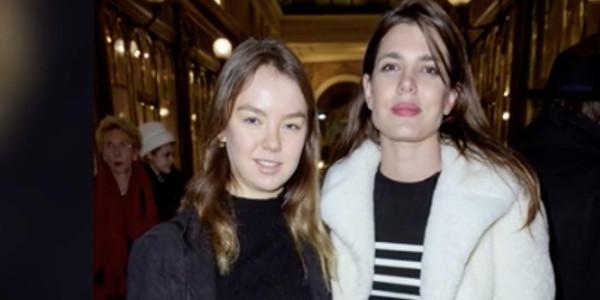 Charlotte Casiraghi s'affiche complice avec Alexandra de Hanovre à Paris (photo)