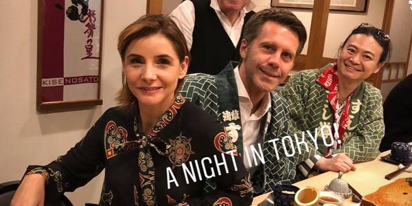 Clotilde Courau et Emmanuel-Philibert de Savoie, virée au resto japonais (photo)