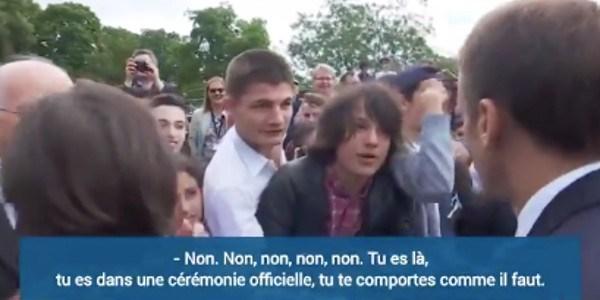 Emmanuel Macron : l'ado qu'il recadré   vit un véritable cauchemar