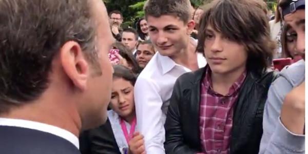 Emmanuel Macron recadre un ado : La suite de la vidéo dévoilée