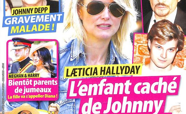 Laeticia Hallyday, l'enfant caché de Johnny lui réclame sa part d'héritage