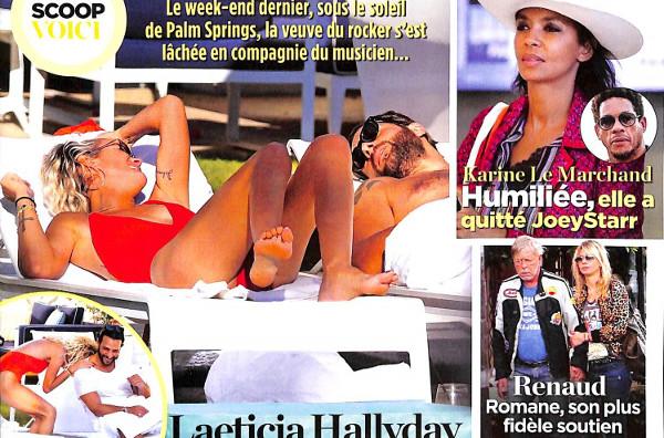 Laeticia Hallyday son week-end détente avec Maxim Nucci dans Voici
