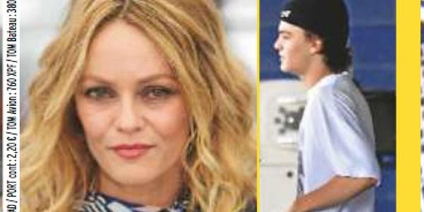 Le fils de Vanessa Paradis ne lâche plus sa petite amie (photos)