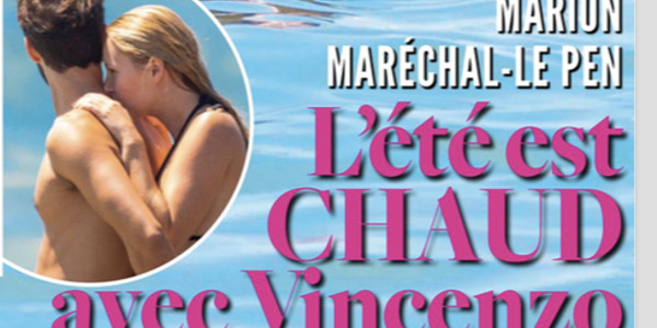 Marion Maréchal-Le Pen en couple avec Vincenzo Sofo, un intellectuel italien