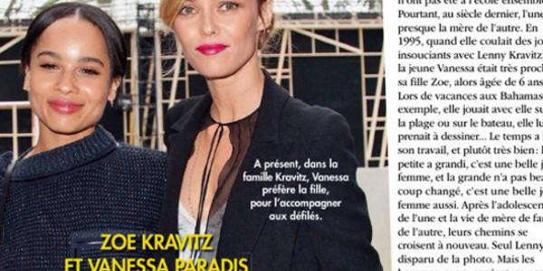 Vanessa Paradis évite Lenny Kravitz comme la peste à Paris