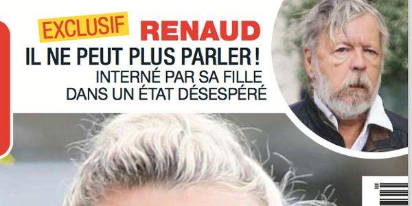 Comateux, Renaud ne peut plus parler