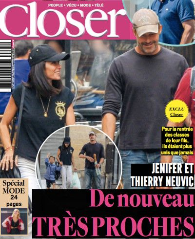 Jenifer Et Thierry Neuvic De Nouveau Très Proches Photo