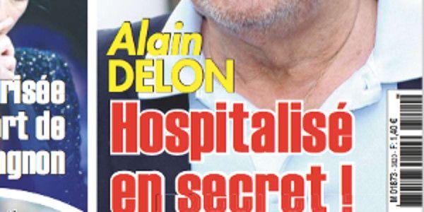 Alain Delon hospitalisé et opéré en secret