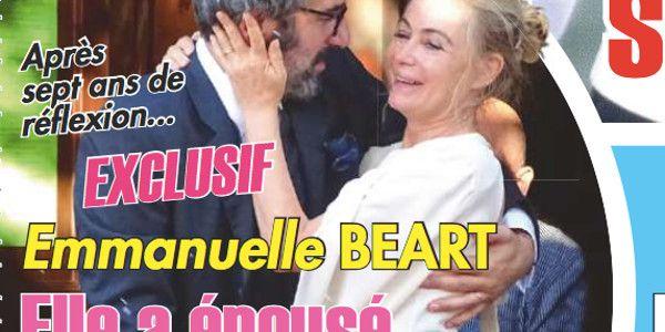 Emmanuelle Béart a enfin épousé Frédéric Chaudier (photo)
