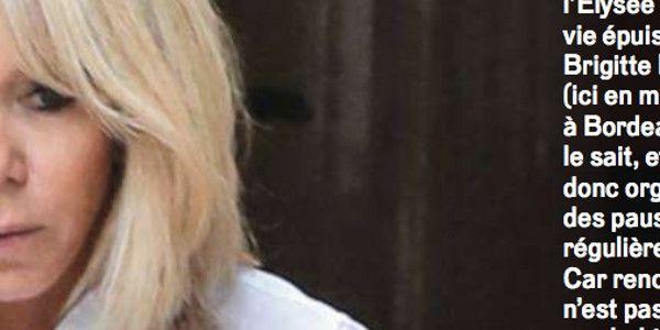 Brigitte Macron «irascible» avec son mari, un proche répond cash