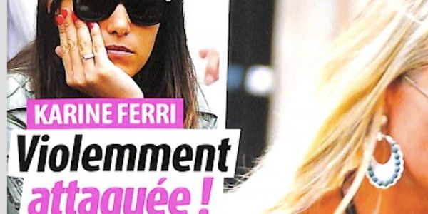Karine Ferri violemment attaquée
