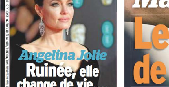 Angelina Jolie ruinée par Brad Pitt,  elle se tourne vers dieu