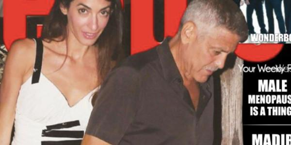 George Clooney atteint d'une«maladie handicapante», Amal aux petits soins pour son homme