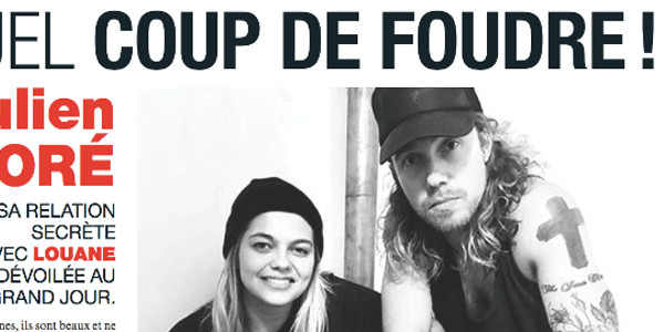 Julien Doré, sa relation secrète avec Louane !