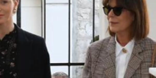 Charlène de Monaco «intimidée» par Caroline, une petite sortie surprise avec Albert à l'Agora (photo)