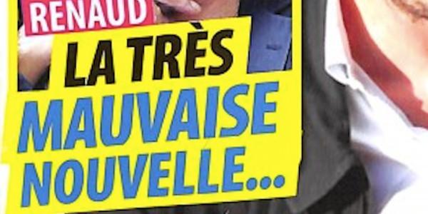 Renaud «face à la maladie», encore une mauvaise nouvelle (photo)