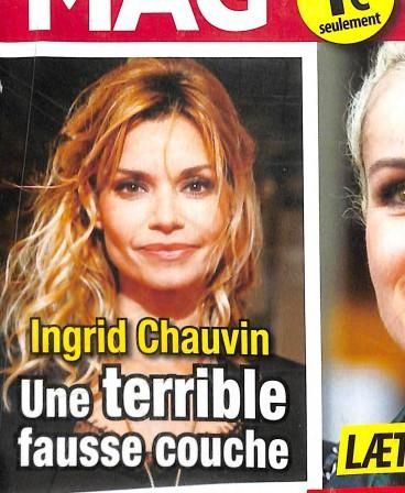 Ingrid chauvin une terrible fausse couche photo - Pourquoi une fausse couche ...