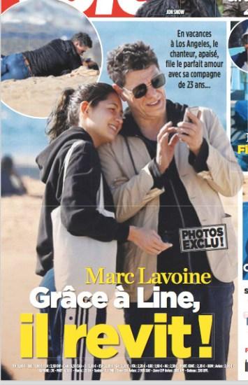 Marc Lavoine Et Line Taillent Leur Route Ils Ne Soucient Pas Des Prejuges