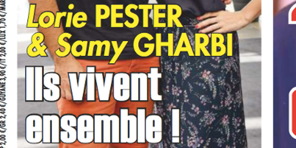 Lorie Pester et Samy Gharbi, ils vivent ensemble (photo)