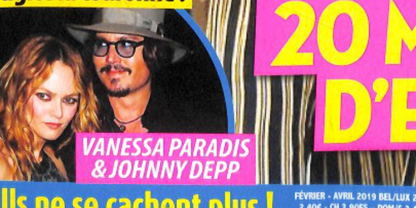 Vanessa Paradis et Johnny Depp, ils ne se cachent plus