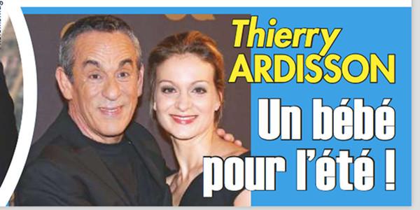 Thierry Ardisson Un Bebe Pour L Ete