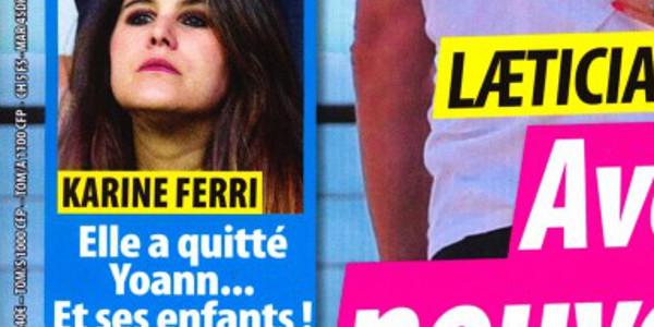 Karine Ferri implacable,  elle a quitté Yoann Gourcuff et ses enfants (photo)