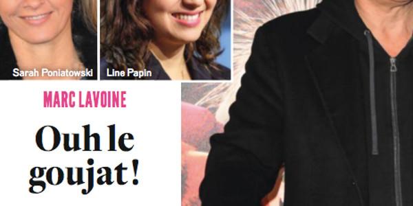 Marc Lavoine comblé par Line Papin, cette terrible