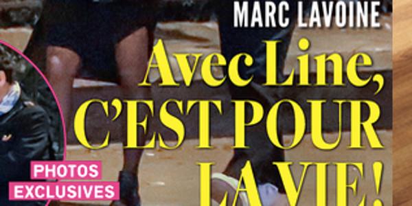 Marc Lavoine, Line Papin, mariage compromis, « une rivale