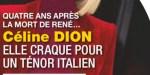 Céline Dion, coup de cœur pour une ténor italien - la vérité éclate (photo)