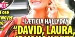 Laeticia Hallyday, un mariage se précise - David et Laura ignorés, son aveu