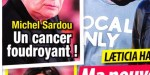 Michel Sardou, épuisement, cancer - confidence indélicate de son fils
