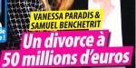 Vanessa Paradis, Samuel Benchetrit, drame, divorce à 50 millions (photo)