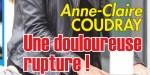 """Anne-Claire Coudray, séparation difficile - """"Coup"""" de griffe de Audrey Crespo-Mara,"""