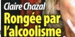 Claire Chazal - alcoolisme  - surnom humiliant qui lui brise le coeur