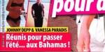 Johnny Depp, Vanessa Paradis, réunis pour passer l'été aux Bahamas
