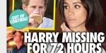 Kate Middleton, Prince William, Meghan Markle - Harry hors de contrôle - disparu depuis 72 heures (photo)