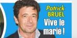 Patrick Bruel - Mariage en catimini avec Clémence - La pression monte (photo)